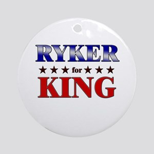 RYKER for king Ornament (Round)
