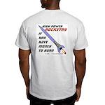 money to burn Ash Grey T-Shirt