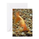 Happy Birthday Bubble Eye Goldfish Greeting Card