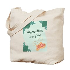 Butterflies Are Free Tote Bag