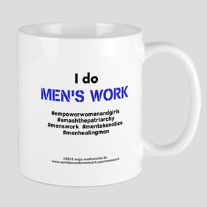 Mens Work 4 - 11 oz Ceramic Mug
