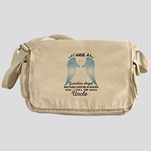 My Uncle Is My Guardian Angel Messenger Bag