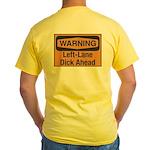 Warning Yellow T-Shirt
