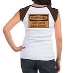 Warning Women's Cap Sleeve T-Shirt
