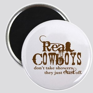 Real Cowboys Magnet
