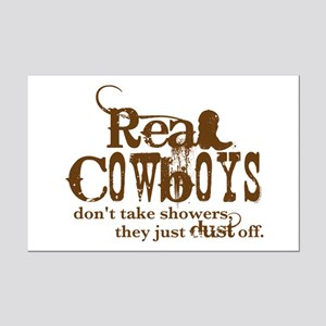 Real Cowboys Mini Poster Print
