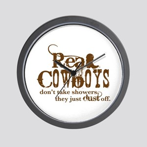 Real Cowboys Wall Clock
