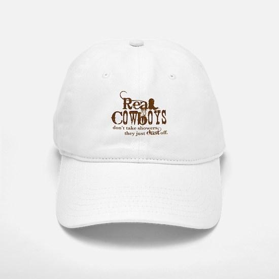 Real Cowboys Baseball Baseball Cap