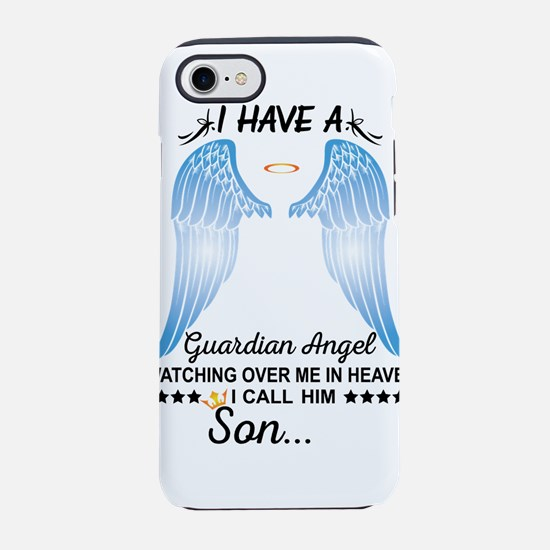 My Son Is My Guardian Angel iPhone 8/7 Tough Case