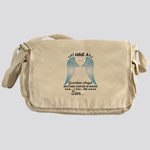 My Son Is My Guardian Angel Messenger Bag