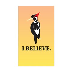 Simple IBWO: I Believe Rectangle Decal