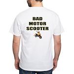 Bad Motor Scooter White T-Shirt