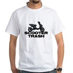 Scooter Trash White T-Shirt