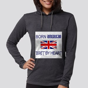 Born American, British by Hea Long Sleeve T-Shirt