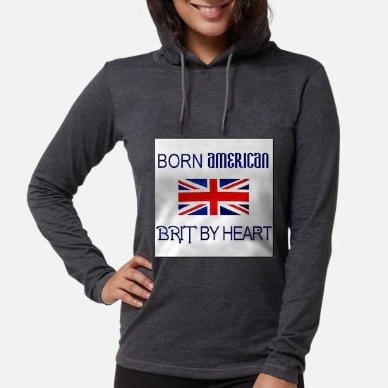 Born American, British by Hea Long Sleeve T-Shirt