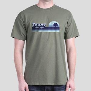 Corpus Christi Blue Retro Dark T-Shirt