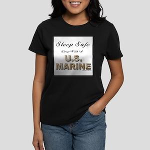Sleep Safe U.S. Marine Women's Light T-Shirt