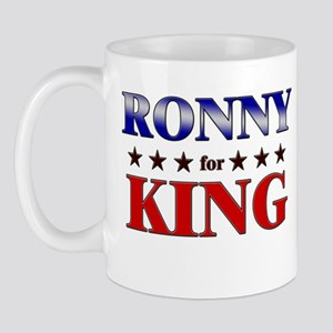 RONNY for king Mug