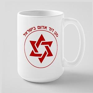Magen David Adom Large Mug