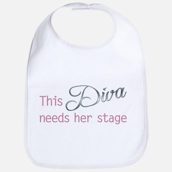 This Diva needs her stage Baby Bib