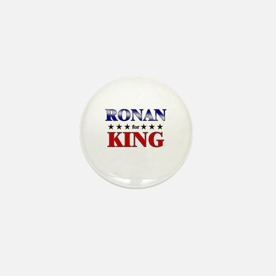 RONAN for king Mini Button
