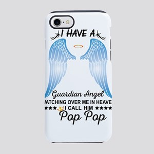 My Pop Pop Is My Guardian Angel iPhone 8/7 Tough C