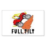 FULL TILT Rectangle Sticker