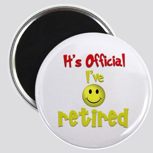 Officially Retired.:-) Magnet