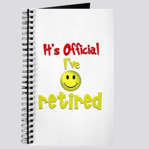 Officially Retired.:-) Journal