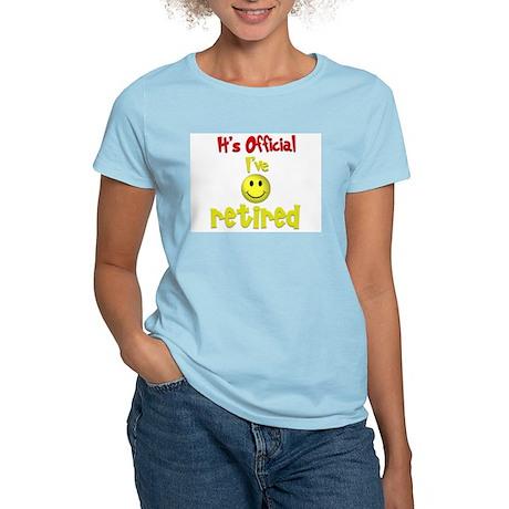 Officially Retired.:-) Women's Light T-Shirt