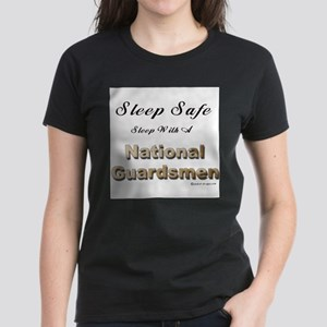 Sleep Safe National Guard Women's Light T-Shirt