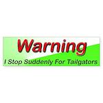 Tailgator Bumper Sticker