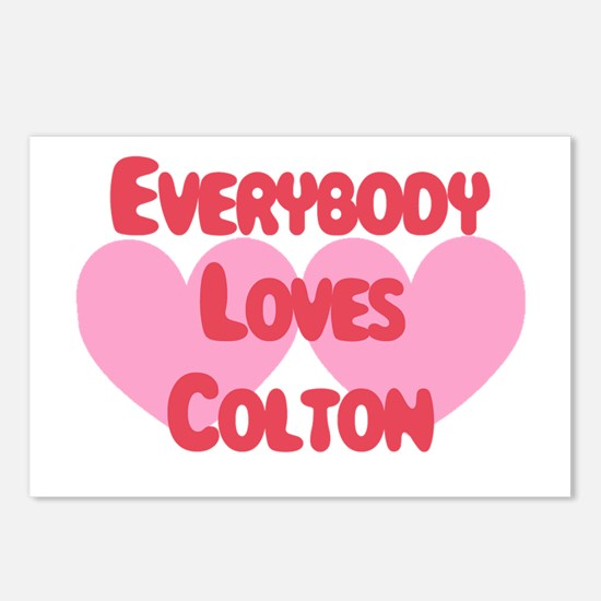 Everybody Loves Colton Postcards (Package of 8)