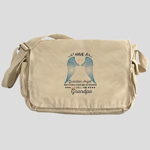 My Grandpa Is My Guardian Angel Messenger Bag