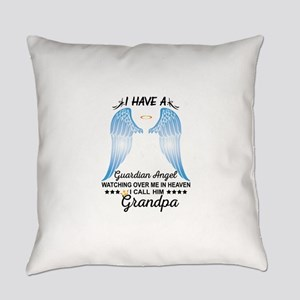 My Grandpa Is My Guardian Angel Everyday Pillow