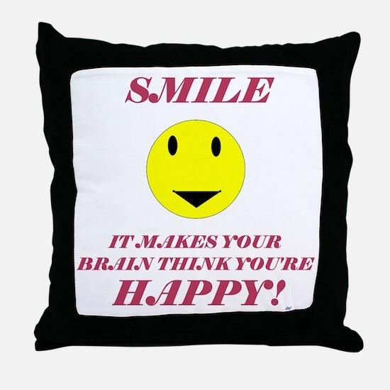Cute Charity humor Throw Pillow