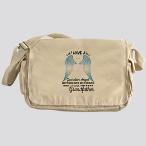 My Grandfather Is My Guardian Angel Messenger Bag