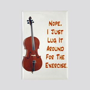 Cello for the Exercise Rectangle Magnet
