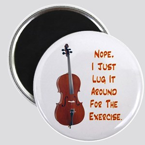 Cello for the Exercise Magnet