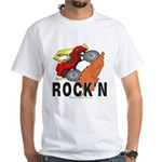 ROCK'N White T-Shirt