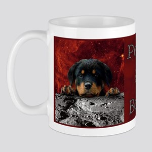 Rottweiler In Space Mug
