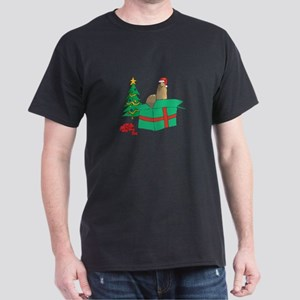 Alpaca For Christmas Gift Dark T-Shirt