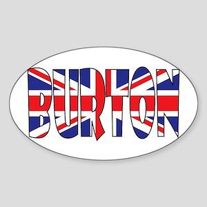 Burton Sticker