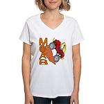 MOAB WILLY Women's V-Neck T-Shirt
