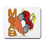 MOAB WILLY Mousepad