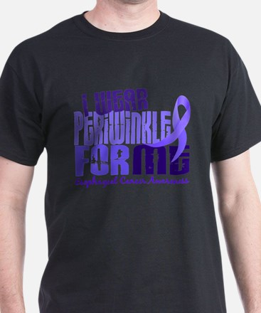 I Wear Periwinkle 6.4 Esophageal Cancer T-Shirt