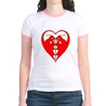 Dragon Heart Ringer T-Shirt