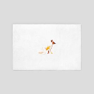 Fading fox 4' x 6' Rug