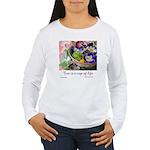 Cup of Life Women's Long Sleeve T-Shirt