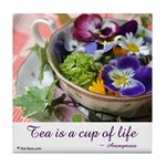 Cup of Life Tile Coaster